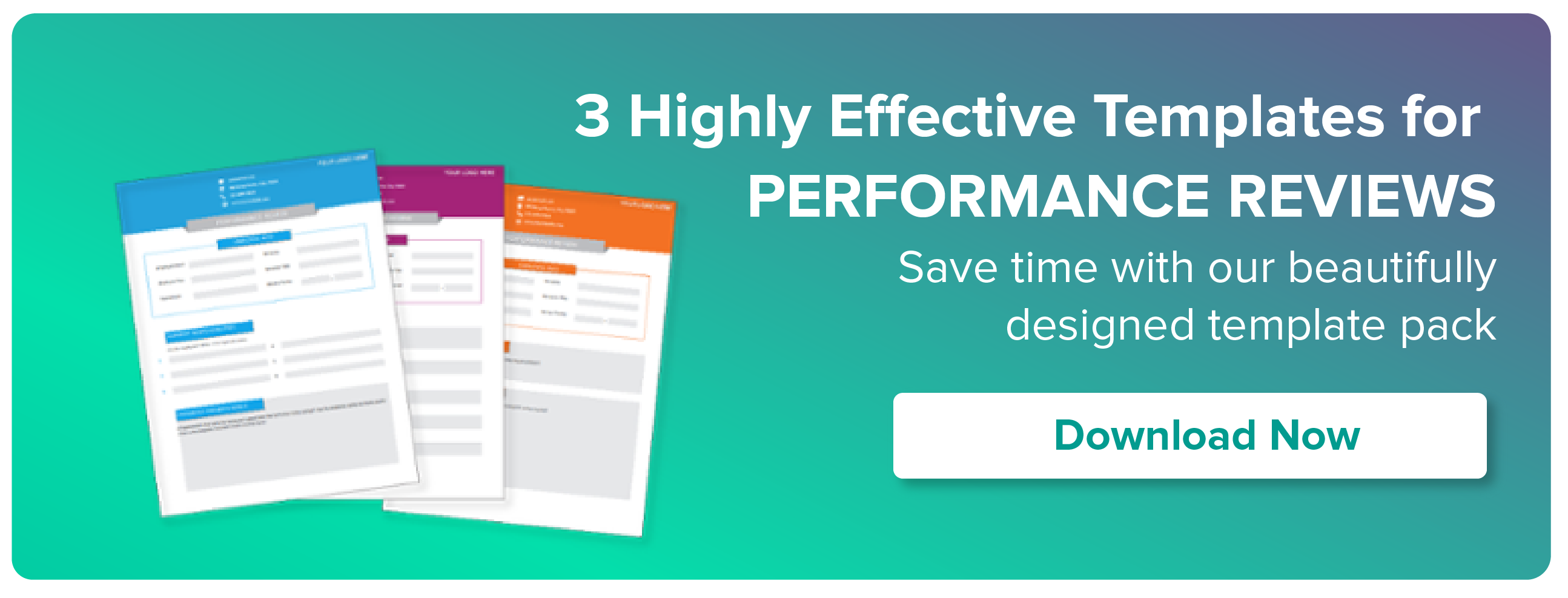 DOWNLOAD NOW: 3 HIGHLY EFFECTIVE TEMPLATES FOR PERFORMANCE REVIEWS