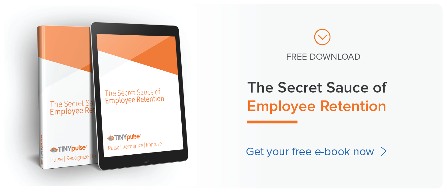 Secret Sauce of Employee Retention