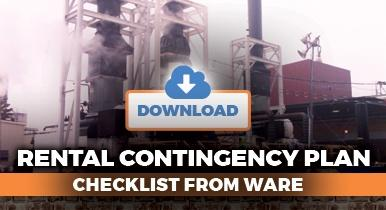 Rental Contingency Plan Checklist from Ware