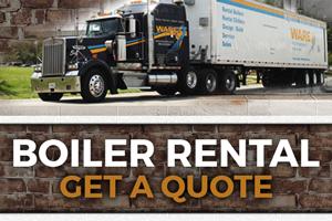 Ware Boiler Rental Quote