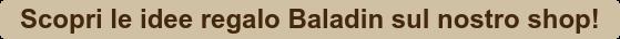 Scopri le idee regalo Baladin sul nostro shop!