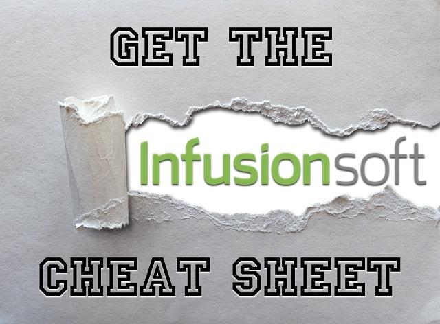 Get the free Infusionsoft cheat sheet to master your CRM and email marketing with Wes Schaeffer.