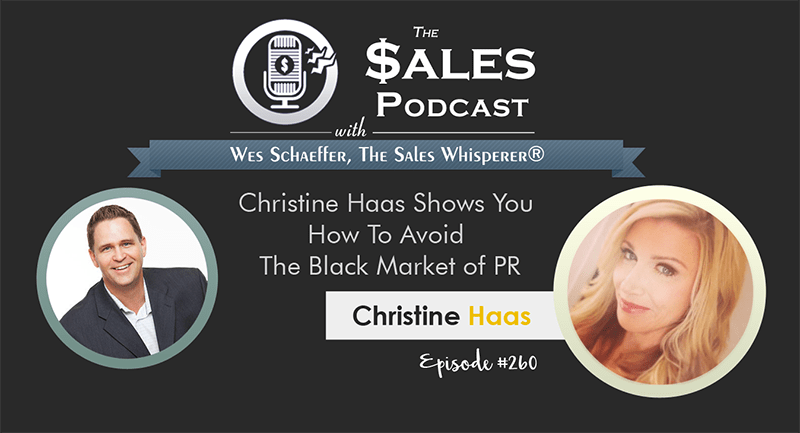 Listen to The Sales Podcast by Inbound Sales and Marketing Automation Expert, Wes Schaeffer, The Sales Whisperer®