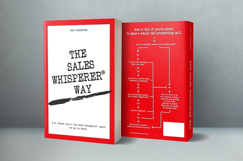 Order Wes's second book to think, market, and close like The Sales Whisperer.