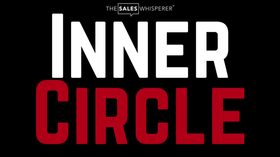 Join the Inner Circle with Wes Schaeffer, The Sales Whisperer