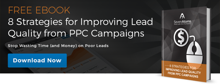 improving lead quality in PPC Campaigns