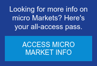 Looking for more info on micro Markets? Here's your all-access pass. Access Micro Market info