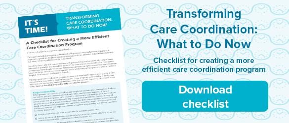 Download care coordination checklist
