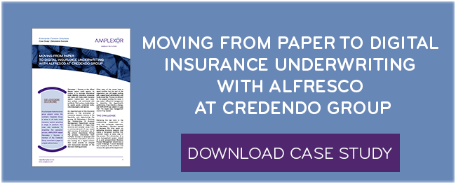 Download the case study: Moving from paper to digital insurance underwriting with Alfresco at Credendo Group