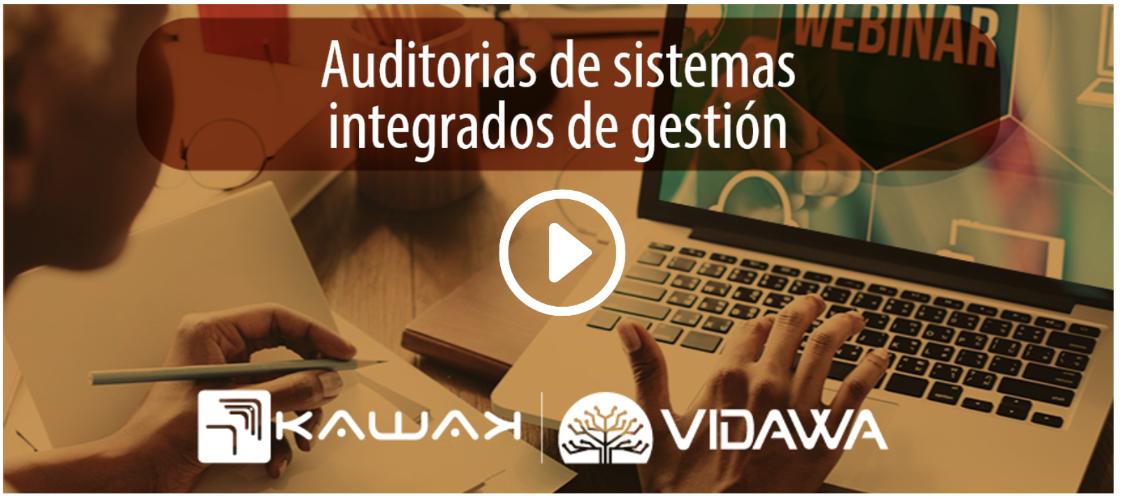 Webinar Auditorías de sistemas integrados de gestión