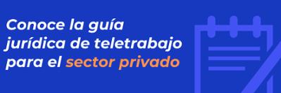 Guia teletrabajo sector privado
