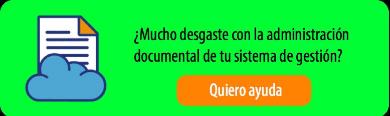 Gestión documental sistemas de gestión ISO 9001