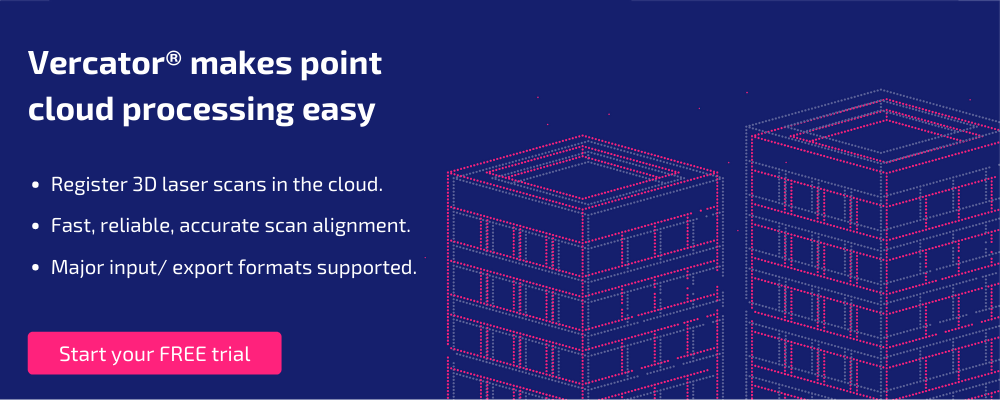 vercator point cloud processing