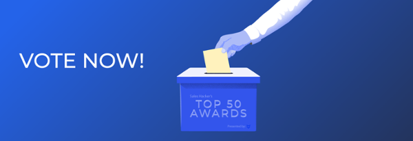 Vote now for an impressive sales professional!