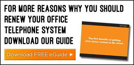 5 reasons why you should renew your office telephone system