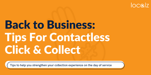 Download tips for contactless click and collect