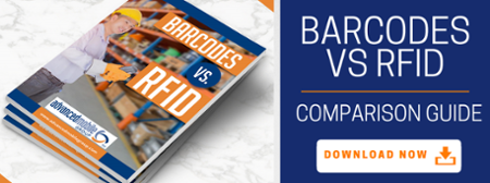 Download the Barcodes vs RFID Comparison Guide