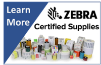 Get Zebra Certified Supplies for All Your Label, Ribbon and Printhead Needs