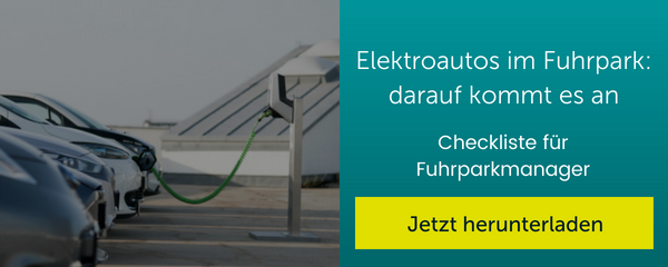 Button: Download Checkliste Elektroautos im Fuhrpark