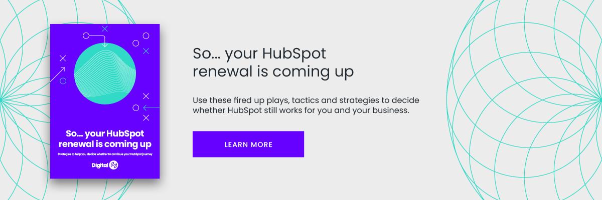 should i renew hubspot guide