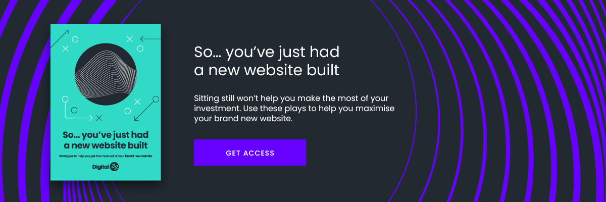 new website built guide