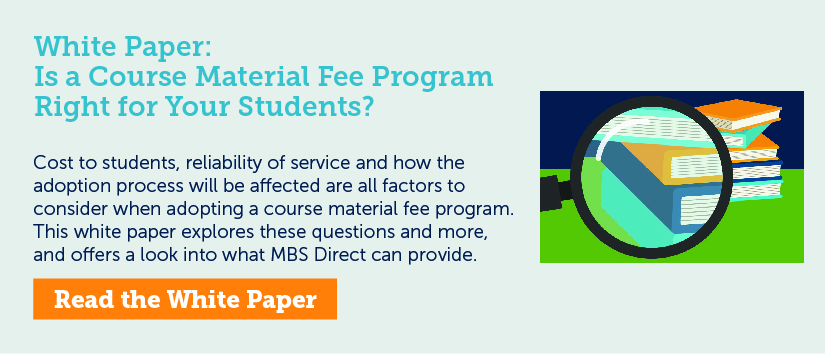 Is a Course Material Fee Program Right for Your Students?