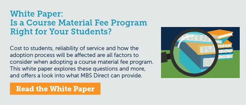 Is a Course Material Fee Program Right? [White Paper]