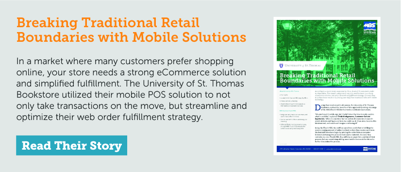 University of St. Thomas: Breaking Traditional Retail Boundaries with Mobile Solutions