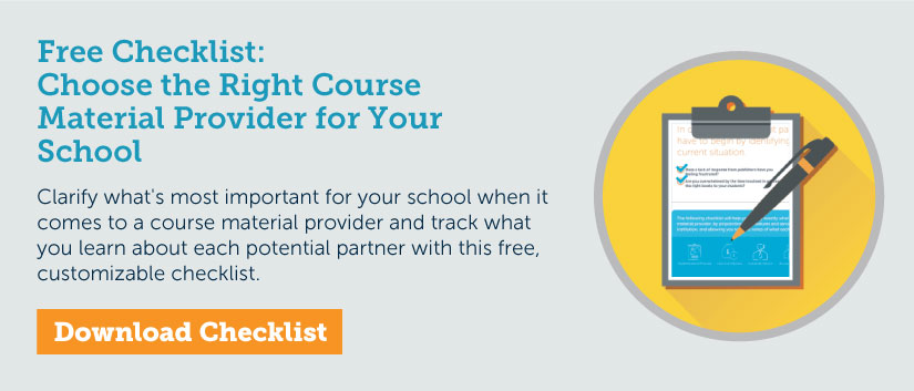 Choose the Right Course Material Provider