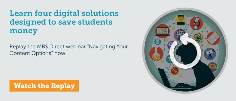 Learn four digital solutions to save students money.