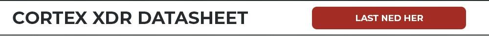 Cortex XDR Datasheet