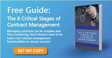 Download the free guide to learn about contract management's critical stages