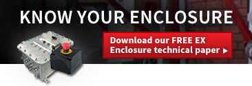Know your enclosure - download our FREE EX Enclosure technical paper