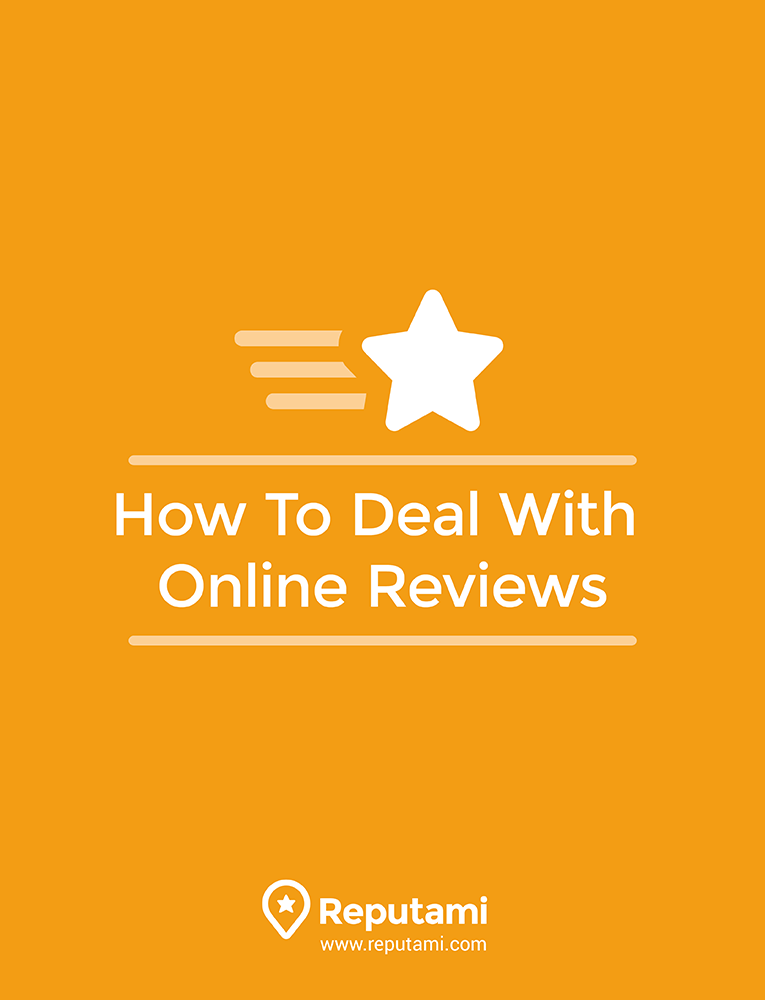 How to deal with online reviews