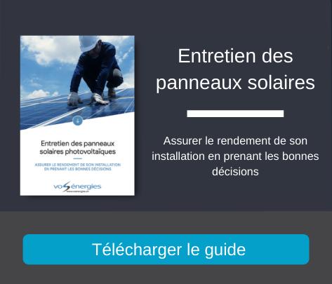 Guide : entretien des panneaux photovaïques