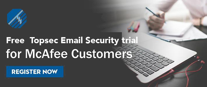 Free Blockmail Trial for McAfee Customers