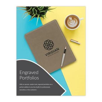 Engraved Portfolio Sell Sheet