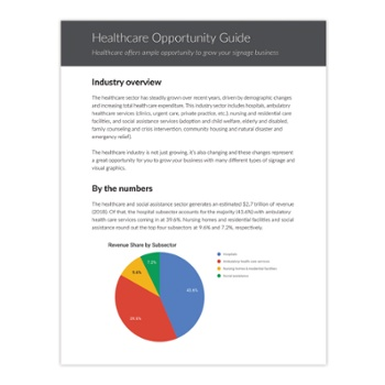 Healthcare Opportunity Guide