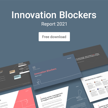 Innovation Blockers Report 2021 ad