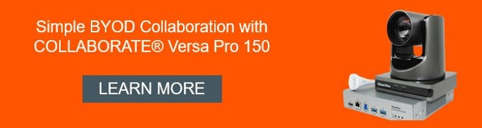 Learn more about COLLABORATE(R) Versa Pro 150 from ClearOne.