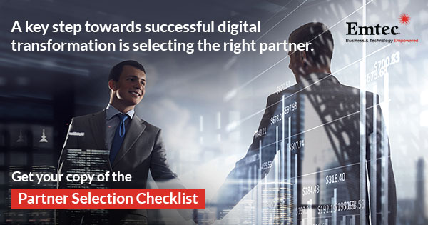 Digital Transformation Partner Selection Checklist