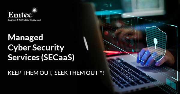 Managed Cyber Security Services (SECaaS) by Emtec
