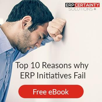 Top 10 Reasons why ERP Fails.