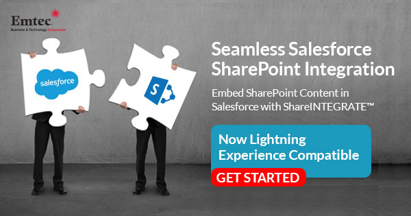 Salesforce SharePoint Integration