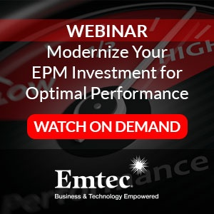 Watch on Demand - Modernize Your EPM Investment for Optimal Performance
