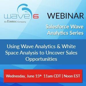 Wave Analytics Webinar: Using White Space Analysis & Wave Analytics