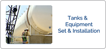 Pressure Vessel Set & Installation