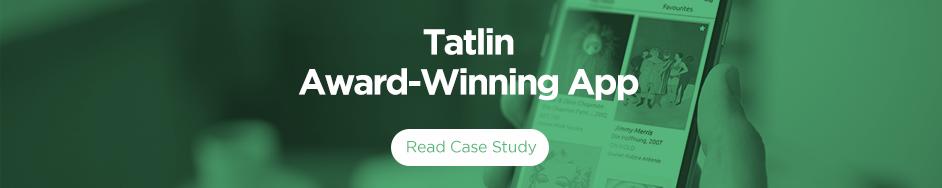 Tatlin Award Winning Art Collector's App Sonin App Development Agency