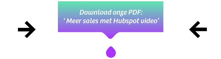 DOWNLOAD ONZE PDF:  'MEER SALES MET HUBSPOT VIDEO'