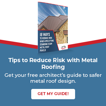 Tips to Reduce Risk with Metal Roofing. Get the Guide.